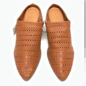 Universal Thread Mules Size 11  Brown NEW